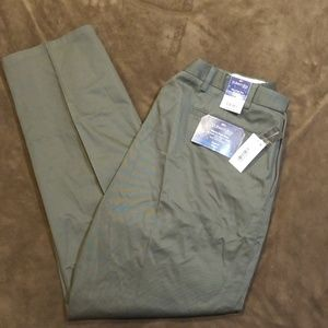 St John's Bay Flat Front Relaxed Fit Pants NWT